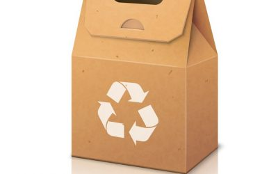 Packaging of eco-friendly products in the ecological chain