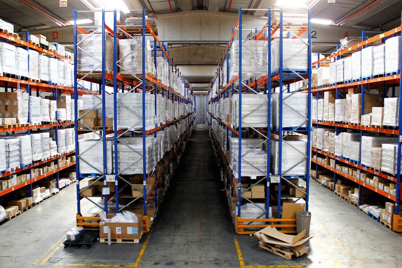 Las funciones operativas del almacén logístico